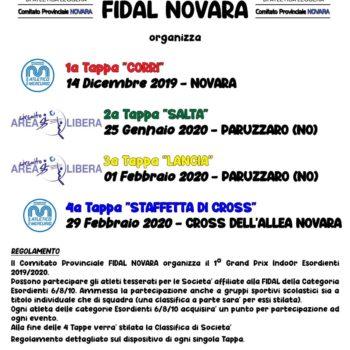 Grand Prix Indoor Esordienti 19/20